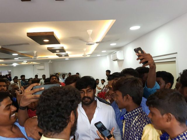 Photos: Sivakarthikeyan inaugurates friend actor Soori's restaurant in Madurai