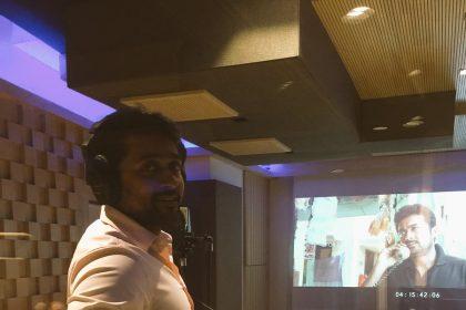 Suriya begins dubbing for Thaanaa Serndha Koottam