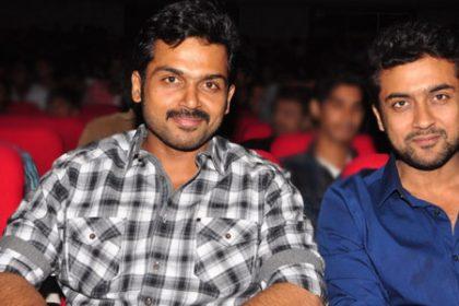 Suriya praises Karthi starrer Theeran Adhigaram Ondru