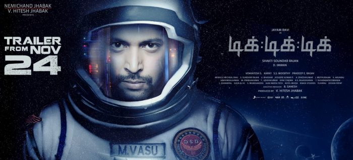 The trailer of Jayam Ravi starrer Tik Tik Tik to be released this week
