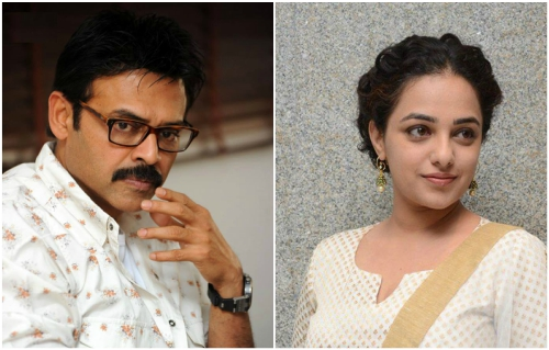Nithya Menen roped in for Venkatesh's upcoming film with director Teja?