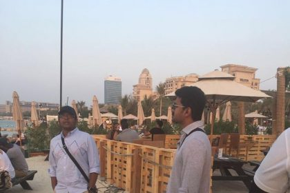 Photos: Mersal duo Vijay and Atlee chill in Dubai