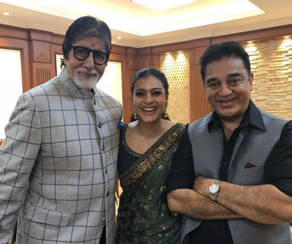Kamal Haasan: I'm a fan of Big B, Kajol