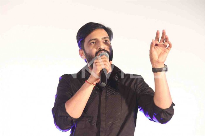 Photos: STR and Dhanush attend the audio launch of 'Sakka Podu Podu Raja' starring Santhanam
