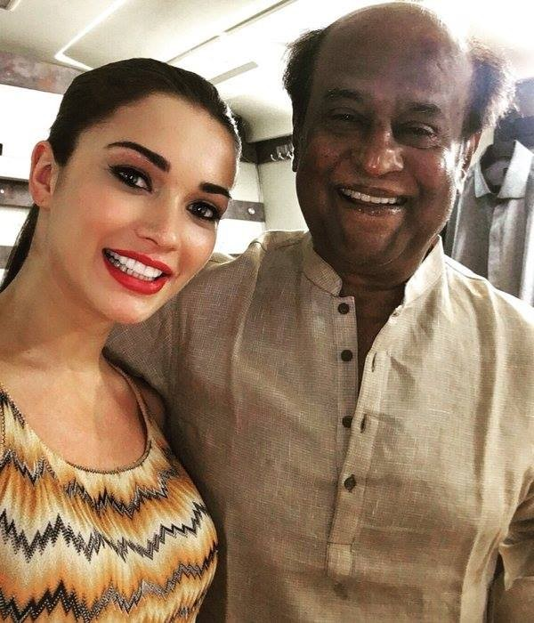 Amy Jackson: Learnt a lot from Rajinikanth during the making of 2.0