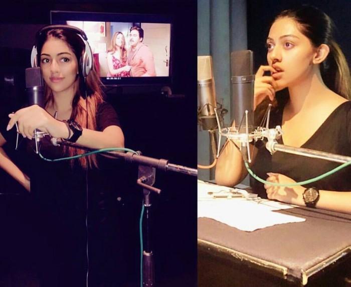 After Keerthy Suresh, Anu Emmanuel dubs her voice for Agnyaathavaasi