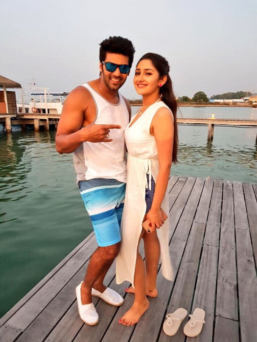 Sayyeshaa and Arya will make a terrific pair in Ghajinikanth and here's the proof