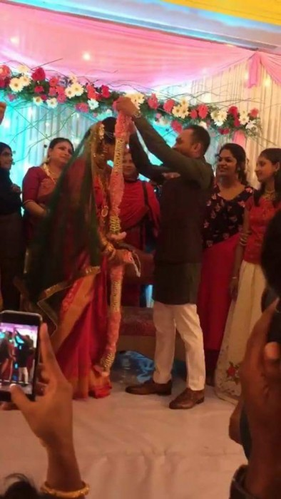 Photos: Premam actor Soubin Shahir gets married to fiancé Jamia Zaheer