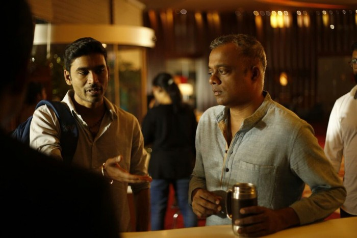 Photos: Dhanush and Gautham Menon resume the shoot of Enai Noki Paayum Thota