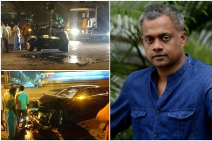 Gautham Menon's car rams into a truck in Chennai; Director escapes with minor injuries