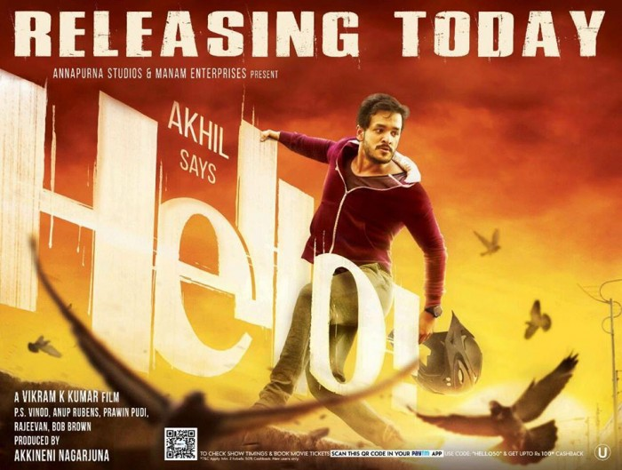 'HELLO' Collections: Akhil Akkineni's second film strikes gold at box office
