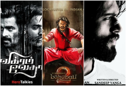 vikram vedha baahubali and arjun reddy top the imdb best   vikram vedha baahubali 2 and arjun reddy top the