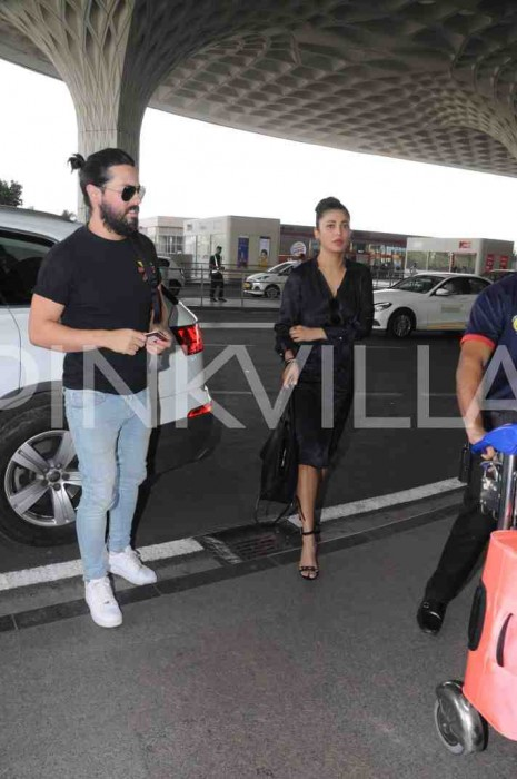 Airport Diaries: Shruti Haasan spotted with rumoured boyfriend Micahel Corsale in Mumbai