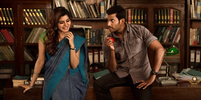 Vishal about Samantha: Rather than calling her a beautiful girl, I would say she is a lovely person