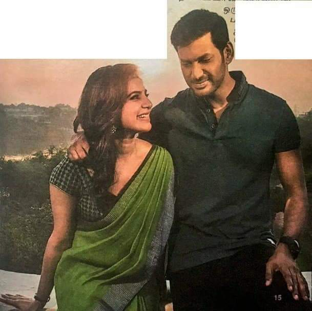Samantha Akkineni and Vishal look good together in these stills from Irumbu Thirai