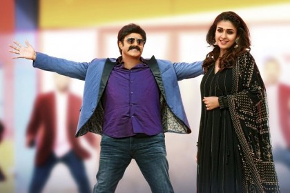 Balakrishna and Nayanthara look great together in this fabulous still from Jai Simha