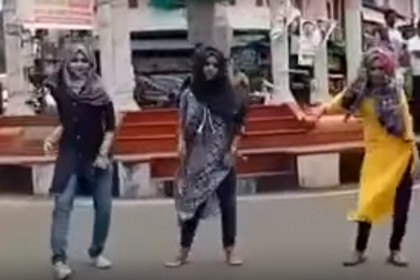 Three Kerala Muslim girls trolled online for performing a flash mob on 'Jimikki Kammal'