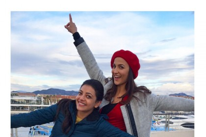 Paris Paris: These photos of Kajal Aggarwal and Elli AvrRam in France are terrific