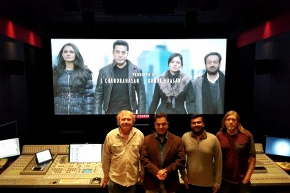 Kamal Haasan busy with post-production works of Viswaroopam 2 in the US