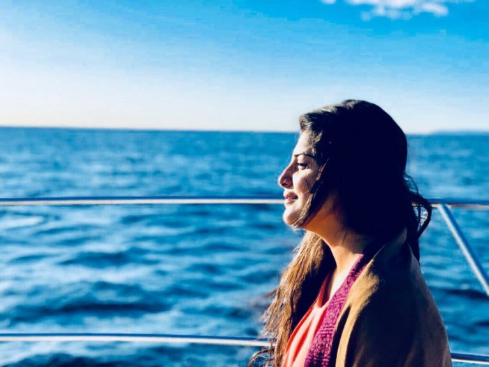 'Zam Zam' star Manjima Mohan looks mesmerising in her latest photo