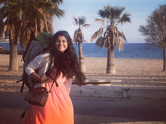 Malayalam cinema's 'Queen' Manjima Mohan looks cute and lively in her latest photo