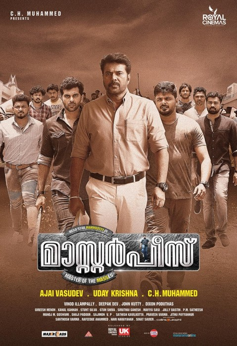 Mammootty's 'Masterpiece' gets an overwhelming response from fans on first day