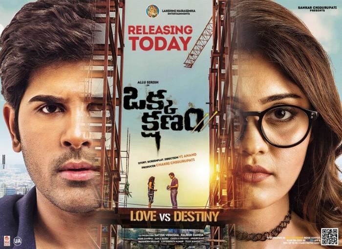 Box Office Report: Allu Sirish's 'Okka Kshanam' shines at overseas markets