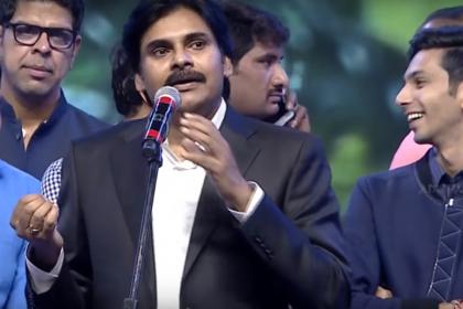 I really loved Anirudh Ravichander's compositions, said Pawan Kalyan at Agnyaathavaasi audio launch
