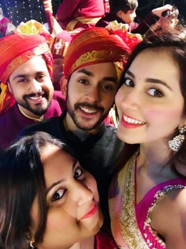 Photo: Raashi Khanna chills at a friend's wedding