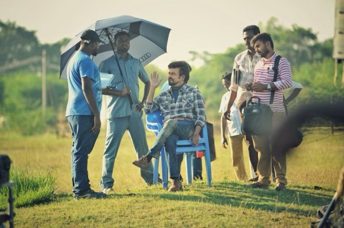This still from the shoot location of 2.0 will make the wait for Rajinikanth's magnum opus even more difficult