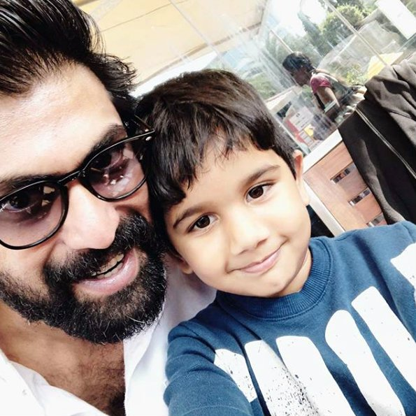 This photo of Rana Daggubati with Allu Arjun's son is priceless