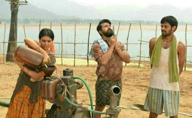 Ram Charan-Samantha make a lovely pair in these stills from Rangasthalam