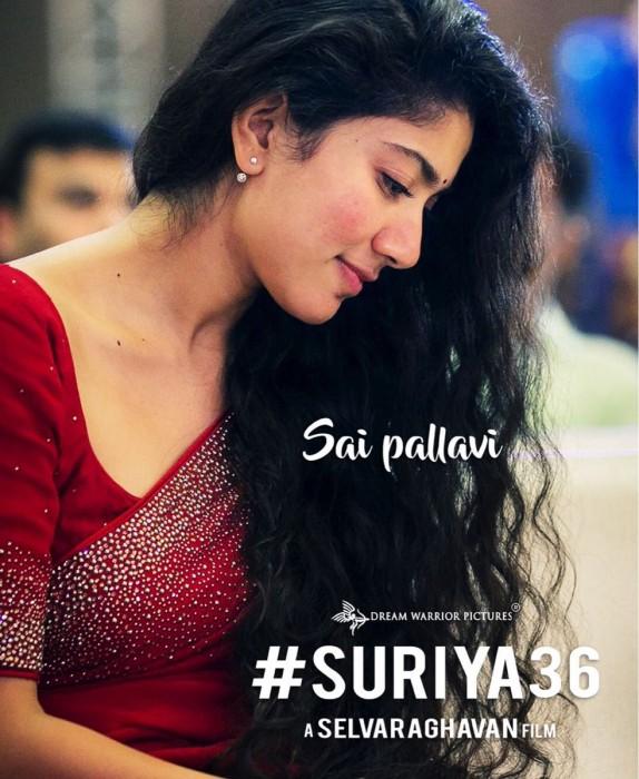 It's confirmed! Sai Pallavi to romance Suriya in his next