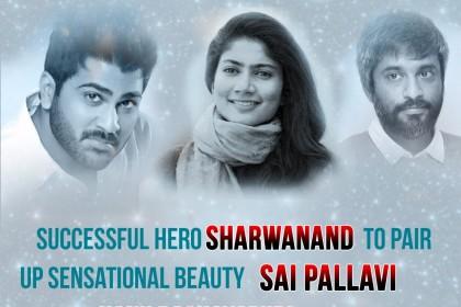 Sai Pallavi to play the female lead in Sharwanand's film with director Hanu Raghavapudi