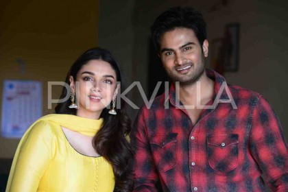 Photos: Sudheer Babu's film next director Mohankrishna Indraganti starring Aditi Rao Hydari gets launched