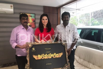 It will be challenging, says Sunny Leone about her Tamil debut Veeramadevi
