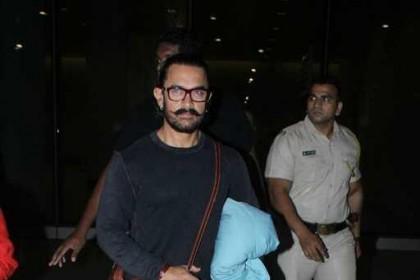 ठग्स ऑफ हिंदोस्तान की शूटिंग पूरी कर मुंबई लौटे आमिर खान