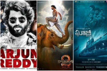 From Baahubali 2 to Arjun Reddy, a look back at the top Telugu movies of 2017