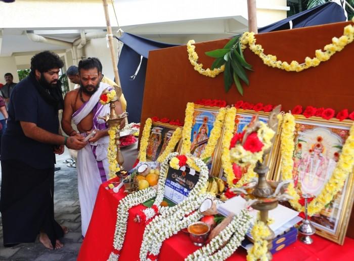 Photos: Jayam Ravi's next starring Raashi Khanna is titled 'Adanga Maru' gets launched