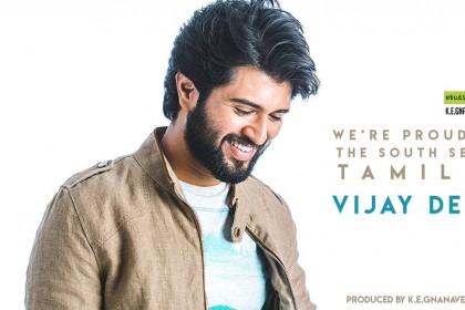 Vijay Deverakonda to make his Tamil debut soon; To be produced by KE Gnanavelraja