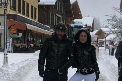 फोटो : तैमूर अली खान के साथ सैफ और करीना यहाँ मना रहे न्यू ईयर