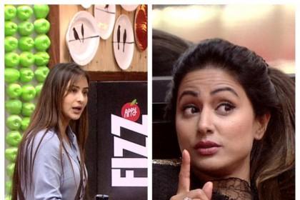हीना खान ने शिल्पा शिंदे को दिखाया बाहर का रास्ता