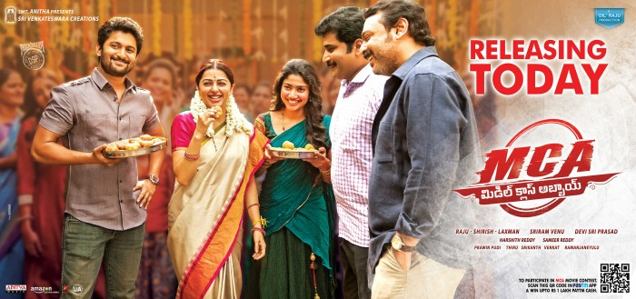 Top 5 reasons to watch Nani and Sai Pallavi starrer MCA releasing today