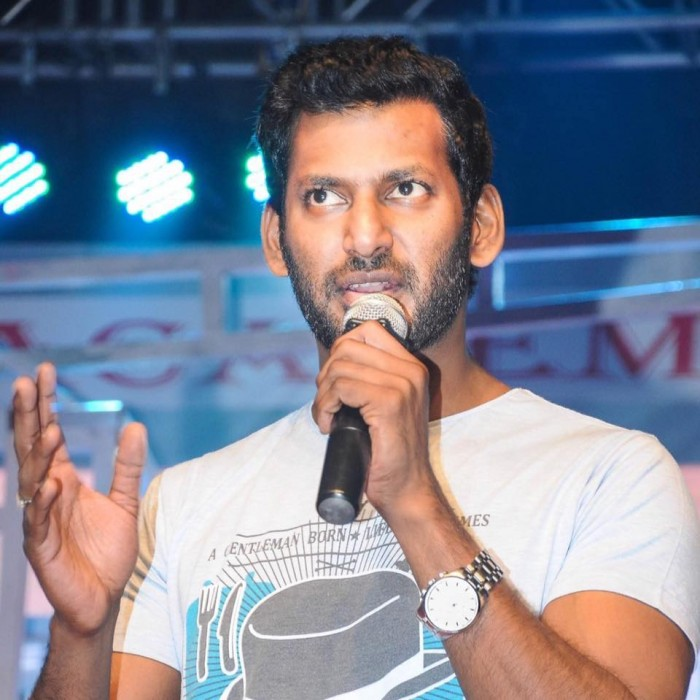 With his nomination for RK Nagar bypoll rejected twice, this will be Vishal's next big move