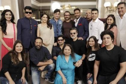 अनिल कपूर- माधुरी दीक्षित के साथ कुछ ऐसे दिखे आमिर खान