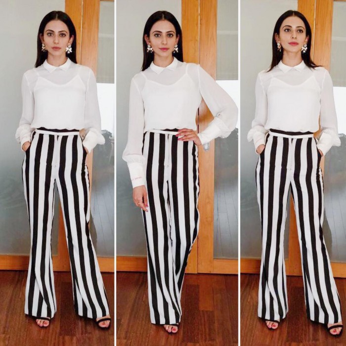 Yay or Nay: Rakulpreet dons a monochromatic look