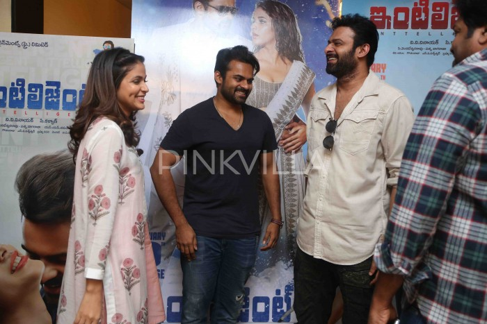 Photos: Prabhas launches the first single 'Lets Do' from Sai Dharam Tej starrer 'Intelligent'