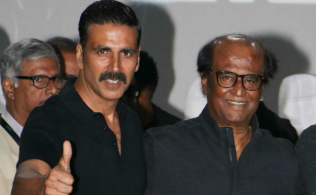 Akshay Kumar about Rajinikanth: Everything he does is so stylish