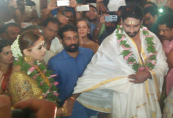 Bhavana And Naveens Wedding Reception Video Is Not Be Missed