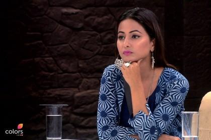 हिना खान ने दिए पत्रकार के तीखे सवालों के जवाब